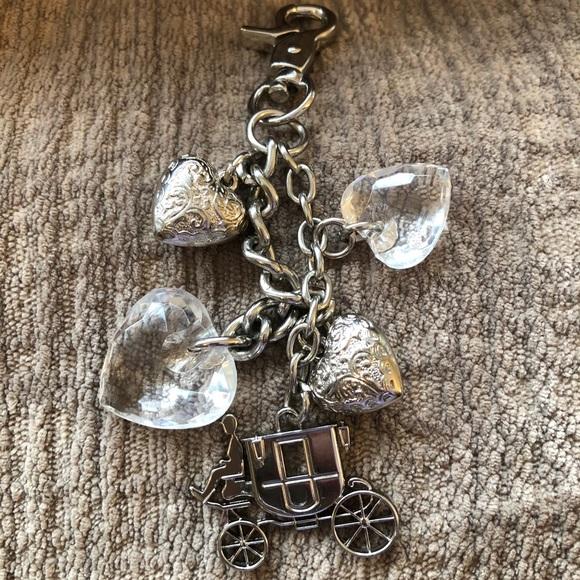 COACH purse charm or key chain